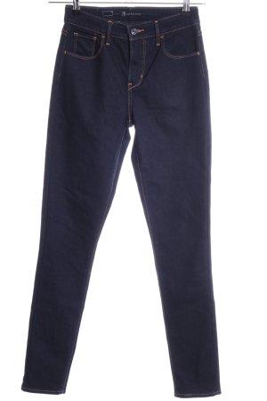 """Levi's Skinny Jeans """"High Rise Skinny"""" blau"""