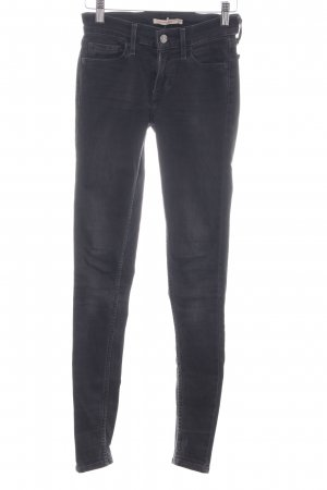 "Levi's Skinny Jeans ""710 Super Skinny"" schwarz"
