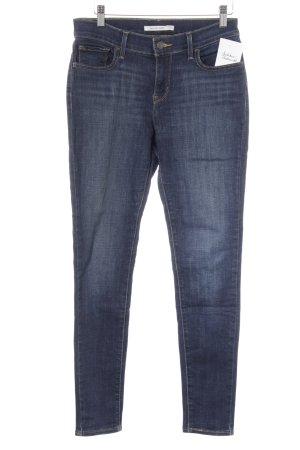 Levi's Skinny Jeans goldorange-dunkelblau Casual-Look