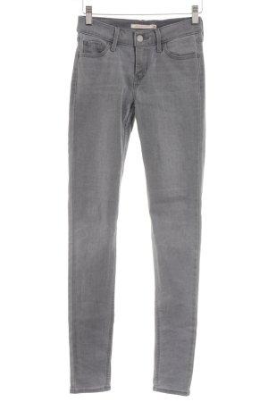 Levi's Jeans skinny gris style décontracté