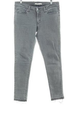 Levi's Skinny Jeans grau Destroy-Optik