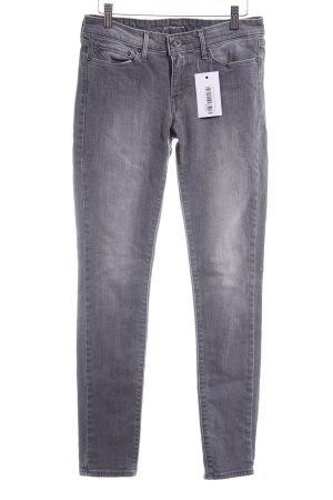Levi's Skinny Jeans grau-hellgrau Casual-Look