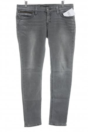 Levi's Skinny Jeans grau-wollweiß Casual-Look