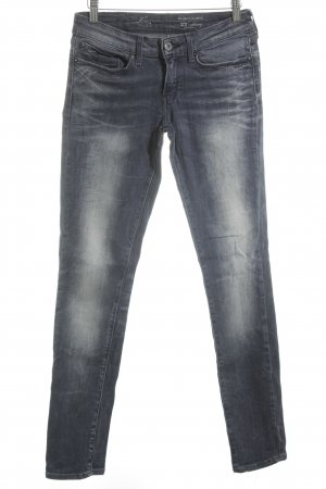 Levi's Skinny Jeans graublau-blau Street-Fashion-Look