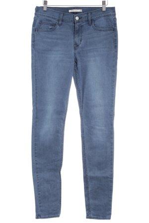 Levi's Skinny Jeans graublau Casual-Look
