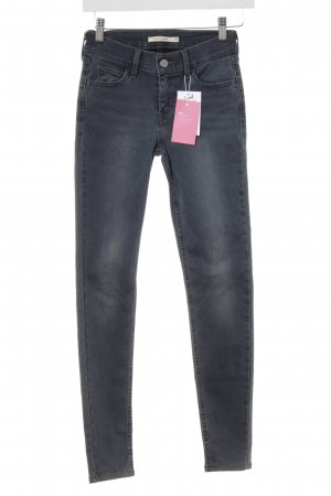 Levi's Skinny Jeans graublau Casual-Look