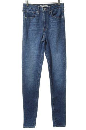 Levi's Skinny Jeans graublau Jeans-Optik