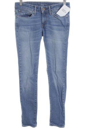 Levi's Skinny Jeans hellblau-weiß Jeans-Optik