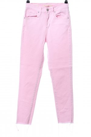 Levi's Skinny Jeans hellrosa Casual-Look