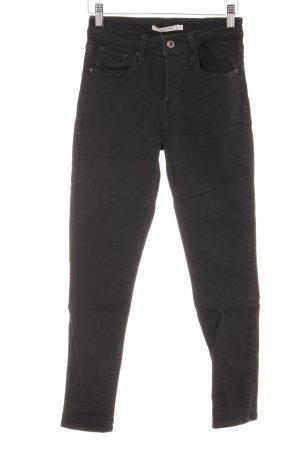 "Levi's Skinny Jeans ""High Rise Skinny"" schwarz"