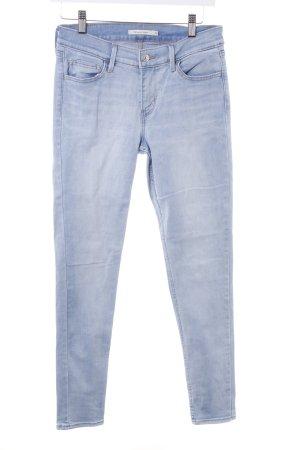 Levi's Skinny Jeans himmelblau Casual-Look