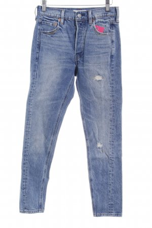 Levi's Skinny Jeans himmelblau Casual-Look