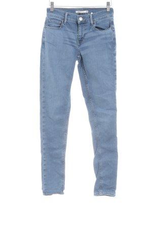 Levi's Skinny Jeans himmelblau Jeans-Optik