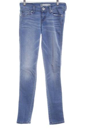Levi's Skinny Jeans himmelblau-kornblumenblau Casual-Look