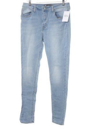 Levi's Skinny Jeans himmelblau Washed-Optik