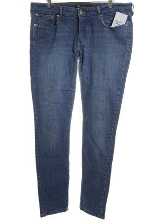 Levi's Skinny Jeans kornblumenblau-blau Casual-Look