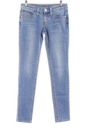 Levi's Skinny Jeans kornblumenblau Casual-Look