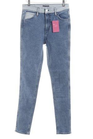 Levi's Skinny Jeans kornblumenblau-himmelblau Casual-Look