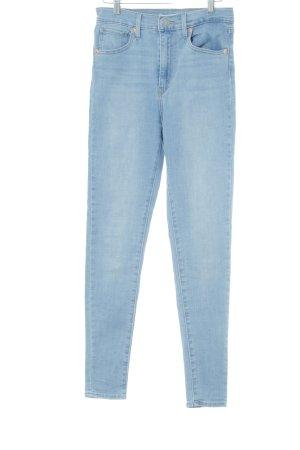 Levi's Skinny Jeans kornblumenblau klassischer Stil