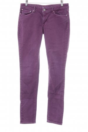 Levi's Skinny Jeans lila Casual-Look