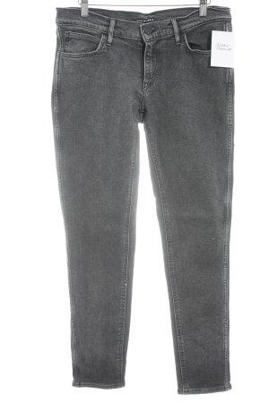 """Levi's Skinny Jeans """"Line 8"""" schwarz"""