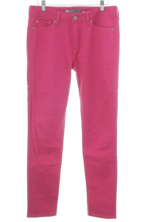 Levi's Skinny Jeans magenta Casual-Look