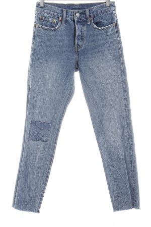 Levi's Skinny Jeans mehrfarbig Used-Optik