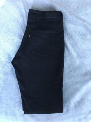 Levi's Skinny Jeans Schwarz