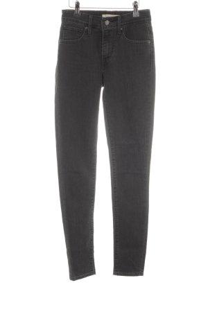 Levi's Skinny Jeans schwarz-dunkelgrau Casual-Look