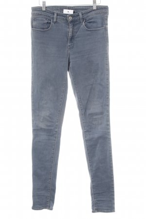 Levi's Skinny jeans staalblauw casual uitstraling