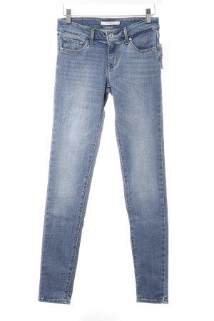 Levi's Skinny Jeans stahlblau Casual-Look