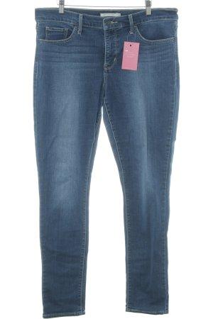 Levi's Skinny Jeans stahlblau schlichter Stil