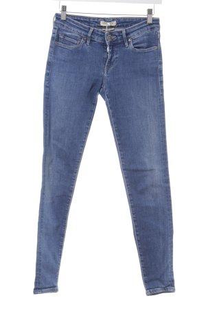 Levi's Skinny Jeans stahlblau Street-Fashion-Look