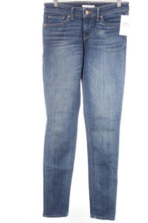Levi's Skinny Jeans stahlblau-wollweiß meliert