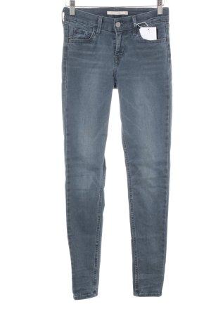 "Levi's Skinny Jeans ""Super Skinny"" graublau"