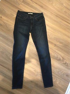 Levi's Skinny jeans donkerblauw