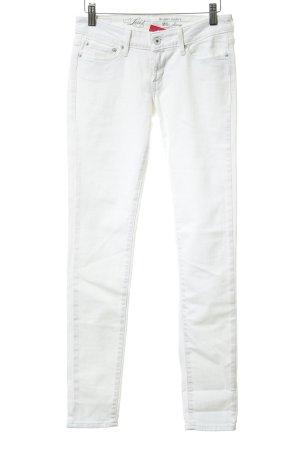 Levi's Skinny Jeans weiß Logo-Applikation