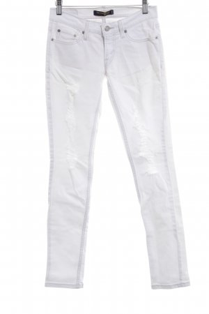 Levi's Jeans skinny blanc style mode des rues