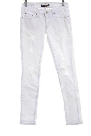 Levi's Vaquero skinny blanco look Street-Style