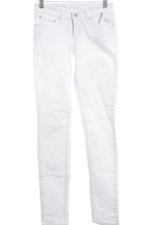 Levi's Skinny Jeans weiß Street-Fashion-Look