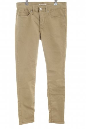 Levi's Skinny Jeans beige-camel Casual-Look