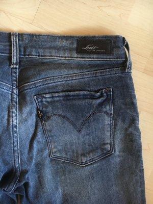 Levi's Jeans bleu foncé-noir