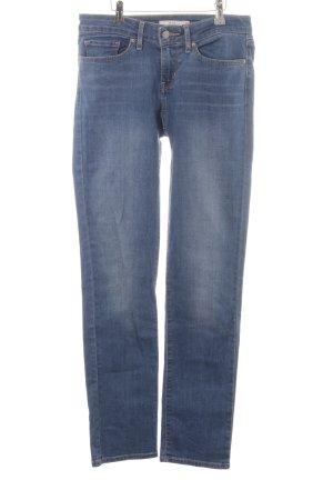 """Levi's Slim Jeans """"712 Slim"""" stahlblau"""