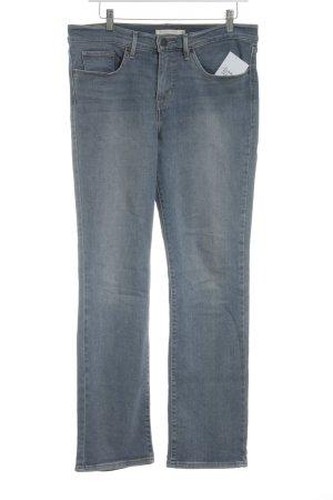 Levi's Slim Jeans blau Casual-Look