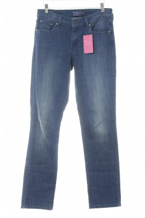 Levi's Slim Jeans blau Washed-Optik