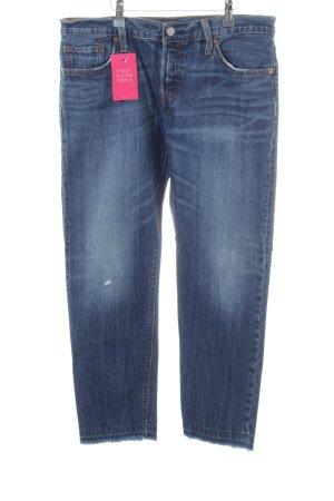 Levi's Slim Jeans blau Jeans-Optik