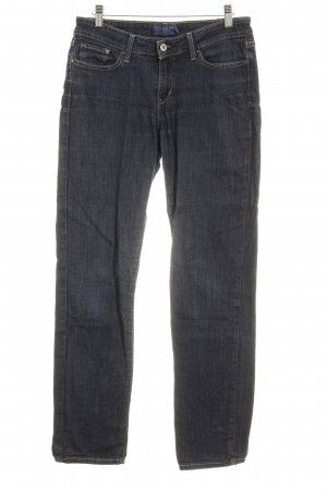 Levi's Slim jeans donkerblauw casual uitstraling