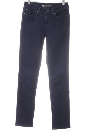 Levi's Slim Jeans dunkelblau Casual-Look