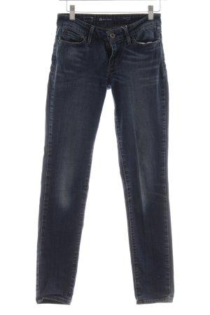 Levi's Slim Jeans dunkelblau Jeans-Optik