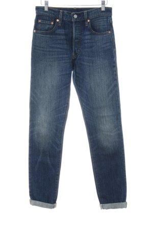 Levi's Slim jeans donkerblauw Jeans-look